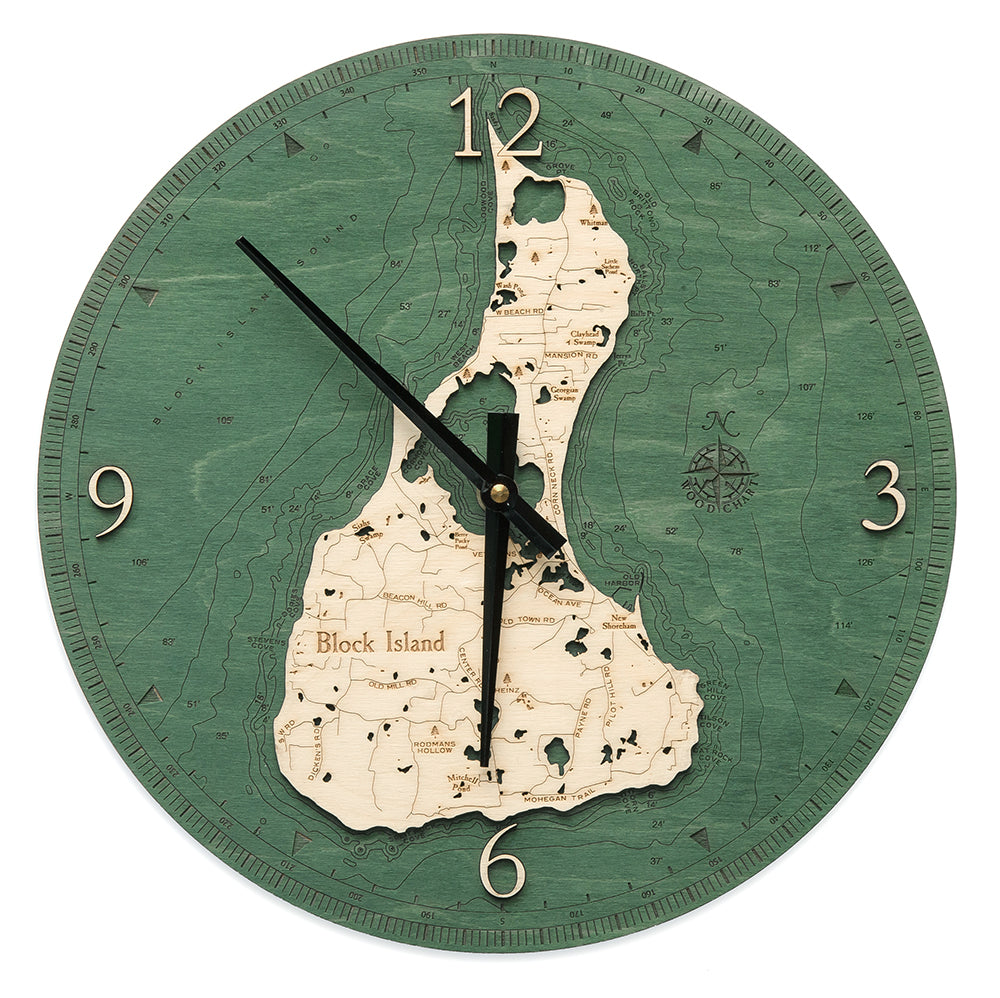Block Island Wall Clock