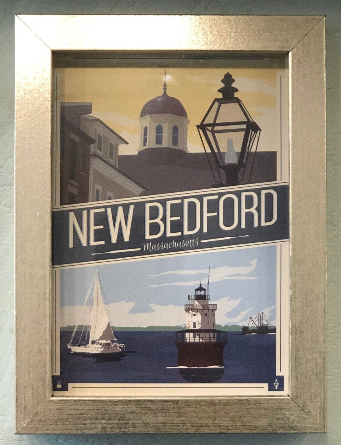 New Bedford Post Card, Montage