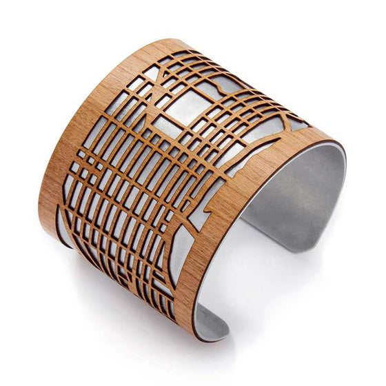 Manhattan Map Cuff Bracelet