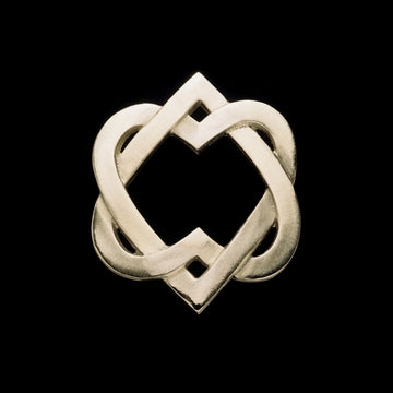 Celtic Heart Door Knocker