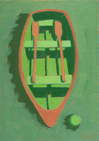Dinghy Oil Painting 8