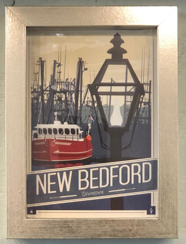 New Bedford Post Card, Downtown