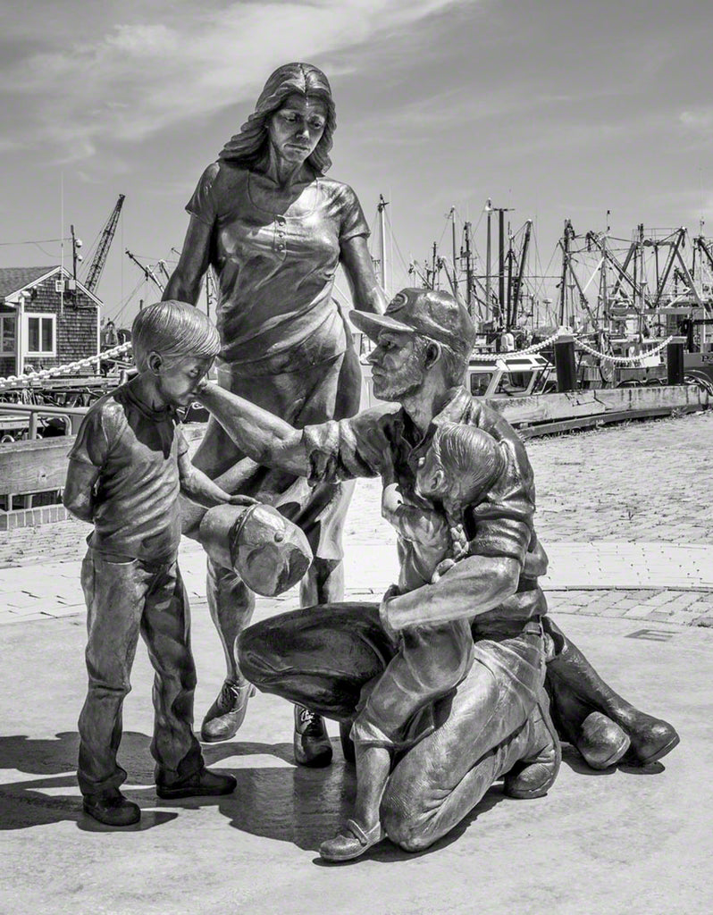 Fisherman's Tribute Monument:  New Bedford Collection