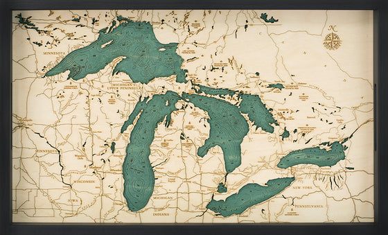 Great Lakes Serving Tray