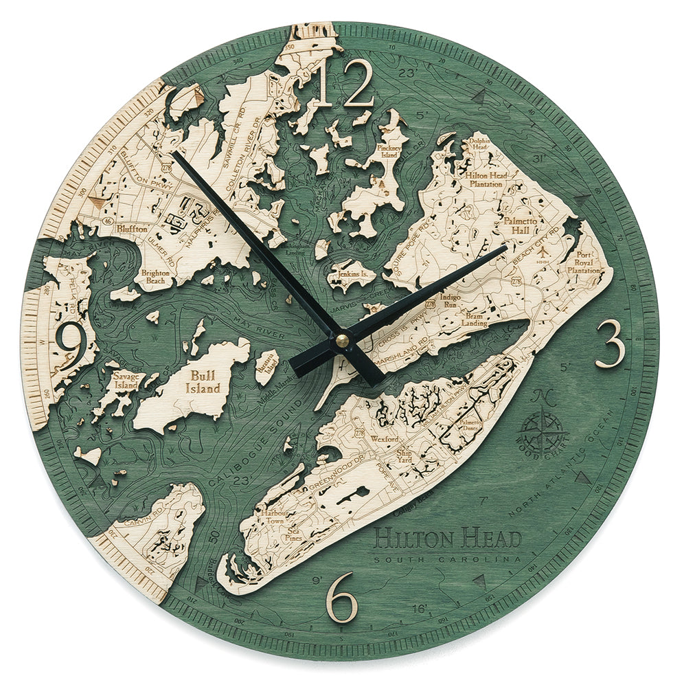 Hilton Head Wall Clock