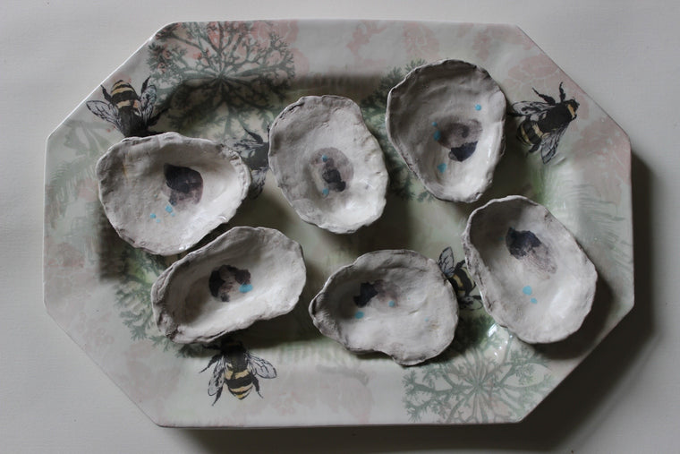 Hanging Oyster Plate by Craig Crawford