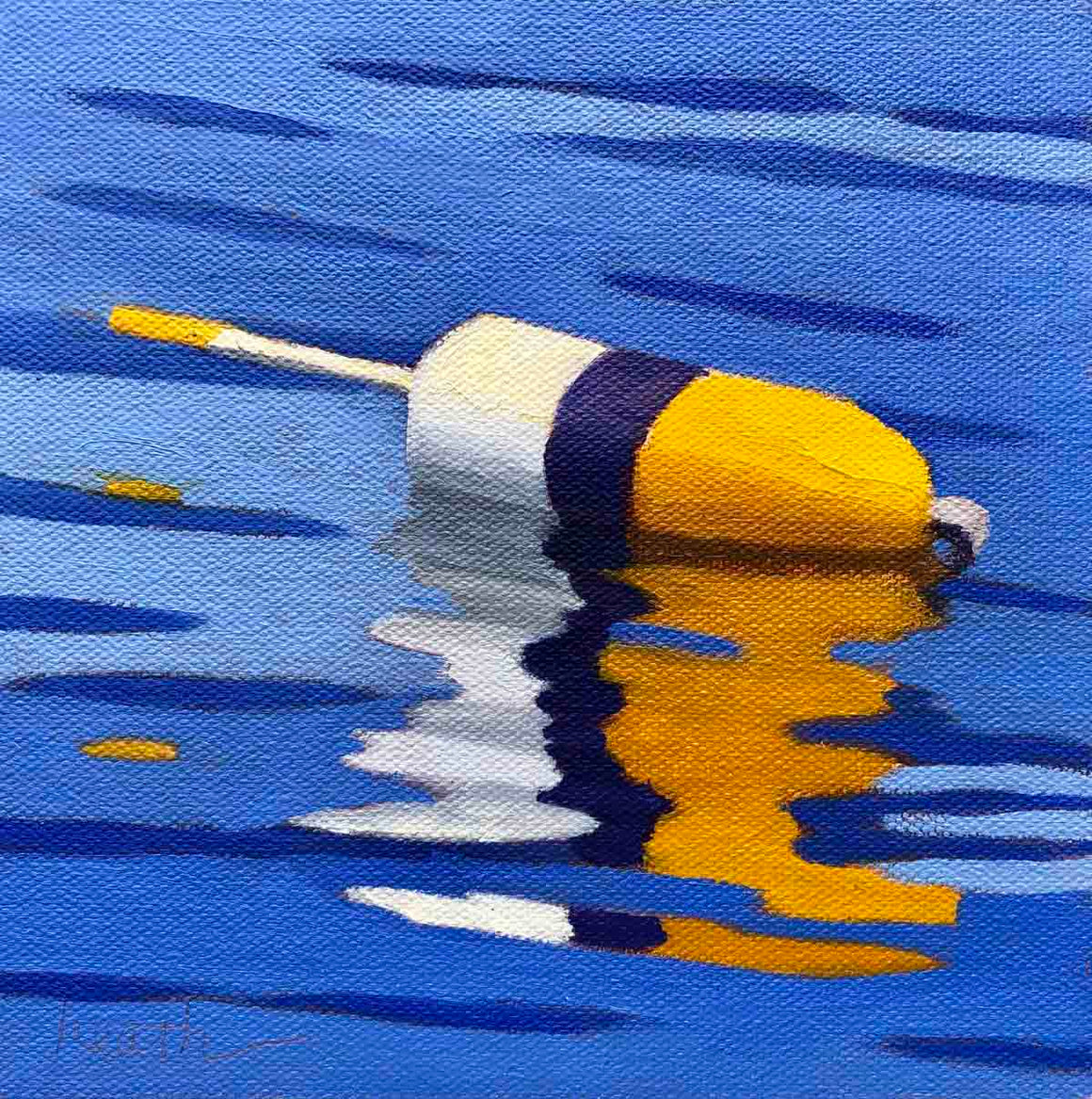 Buoy Oil Painting 5