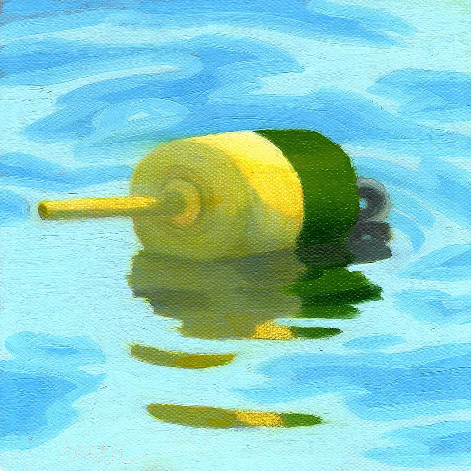 Buoy Oil Painting 8