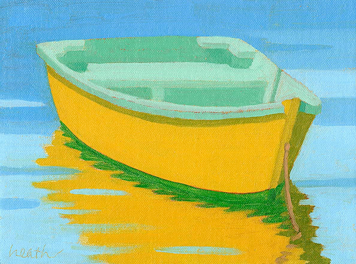 The Yellow Skiff