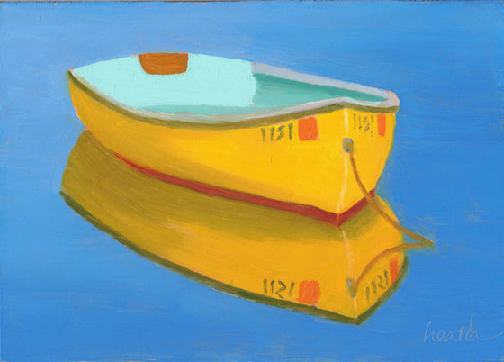 Yellow Rowboat