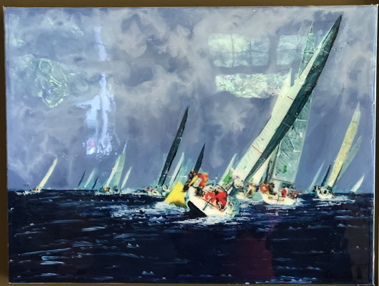 Regatta by Estelle Chojnicki