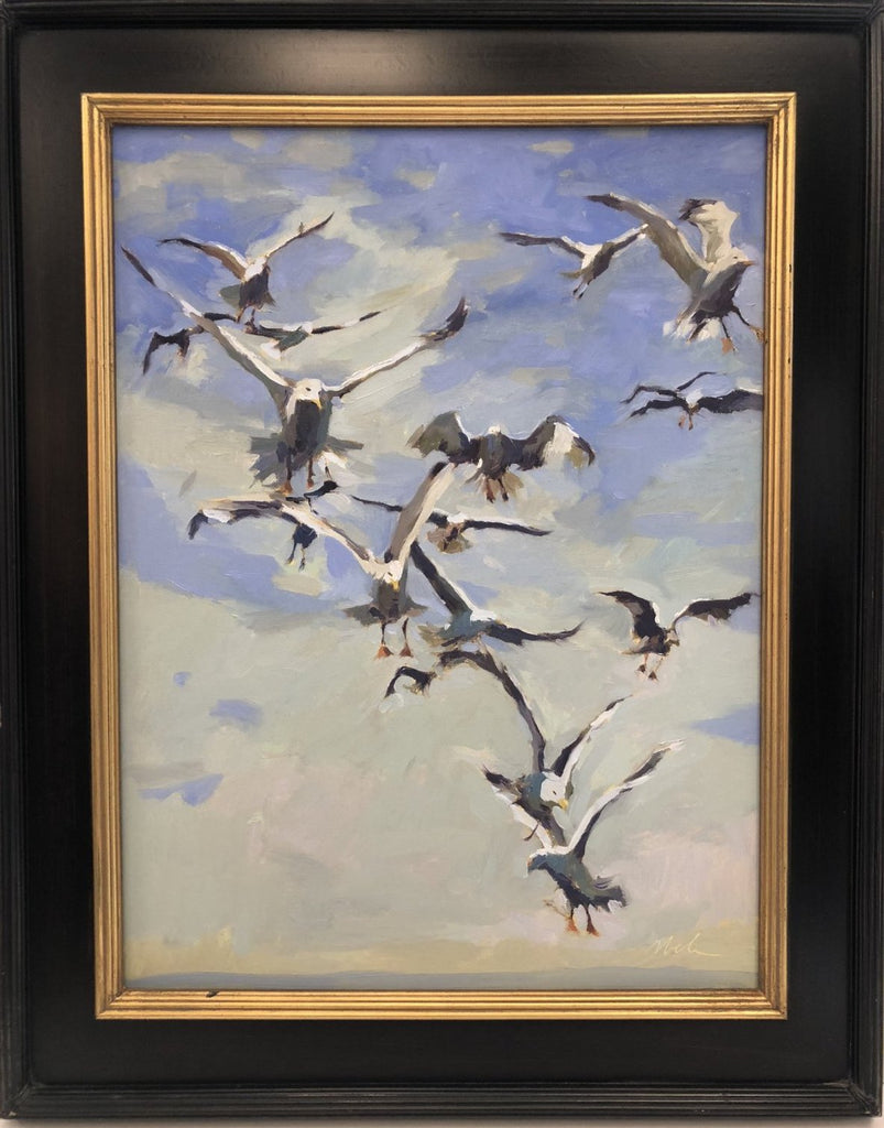 Original Oil Painting by Robert Abele - Freedom & Flight