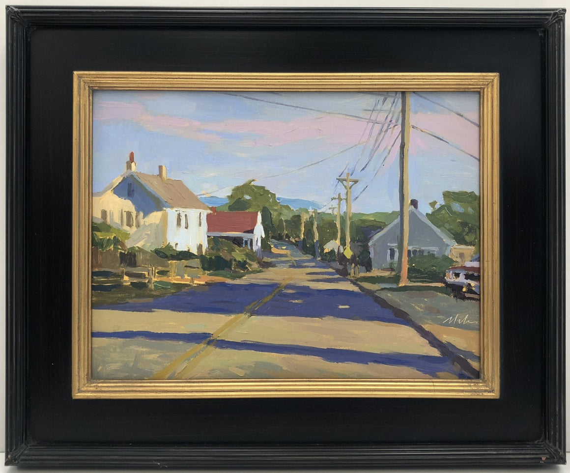 Original Oil Painting by Robert Abele - Late Afternoon Rte. 6A Truro