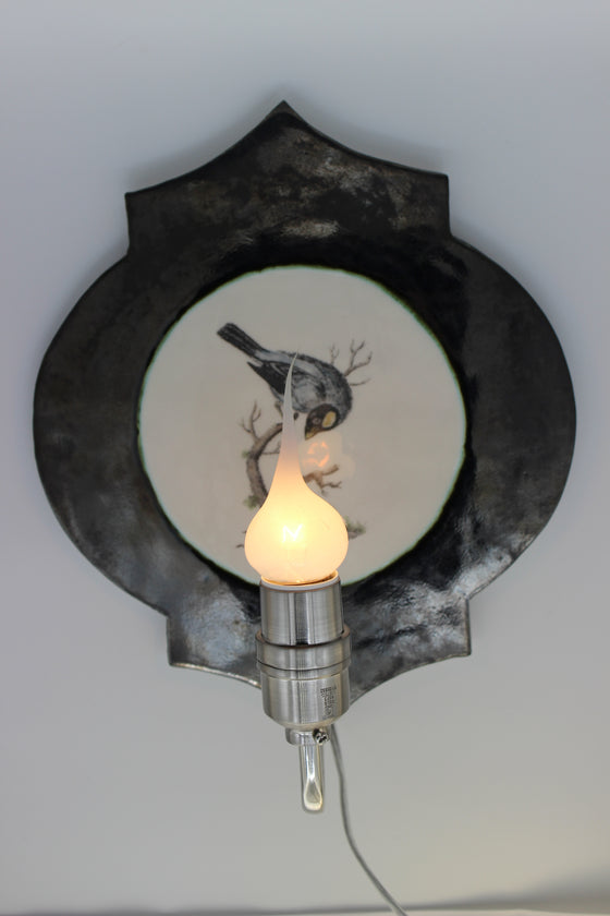 Song Bird Wall Sconce by Craig Crawford