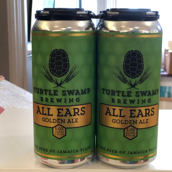 All Ears Dry Hopped Golden Ale, Turtle Swamp Brewery