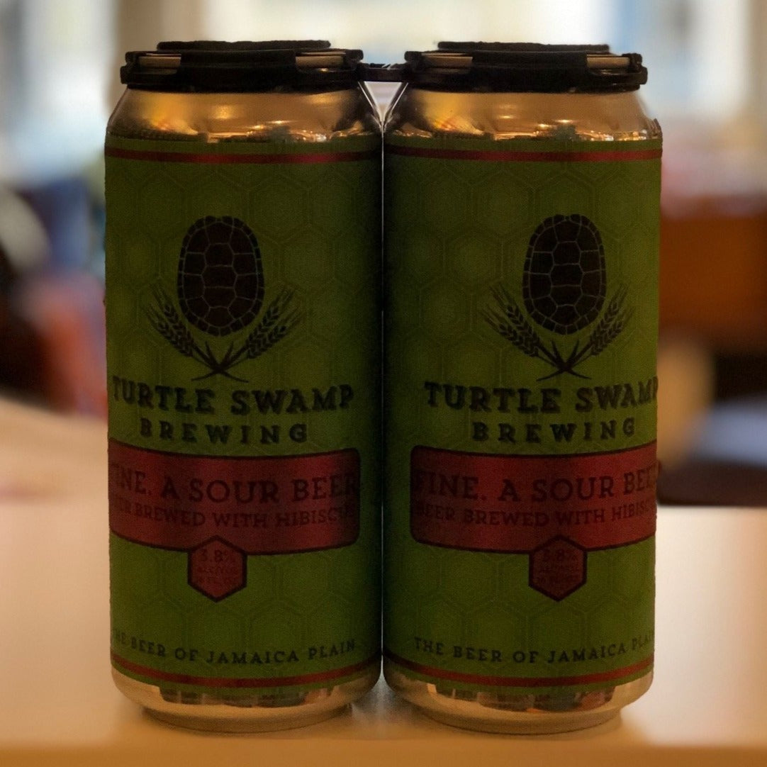 Fine. A Sour Beer Turtle Swamp Brewery