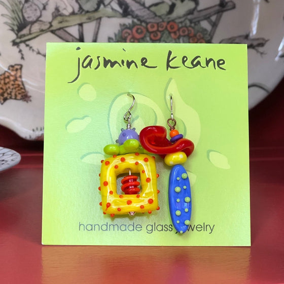 New Big Girl Earrings by Jasmine Keane