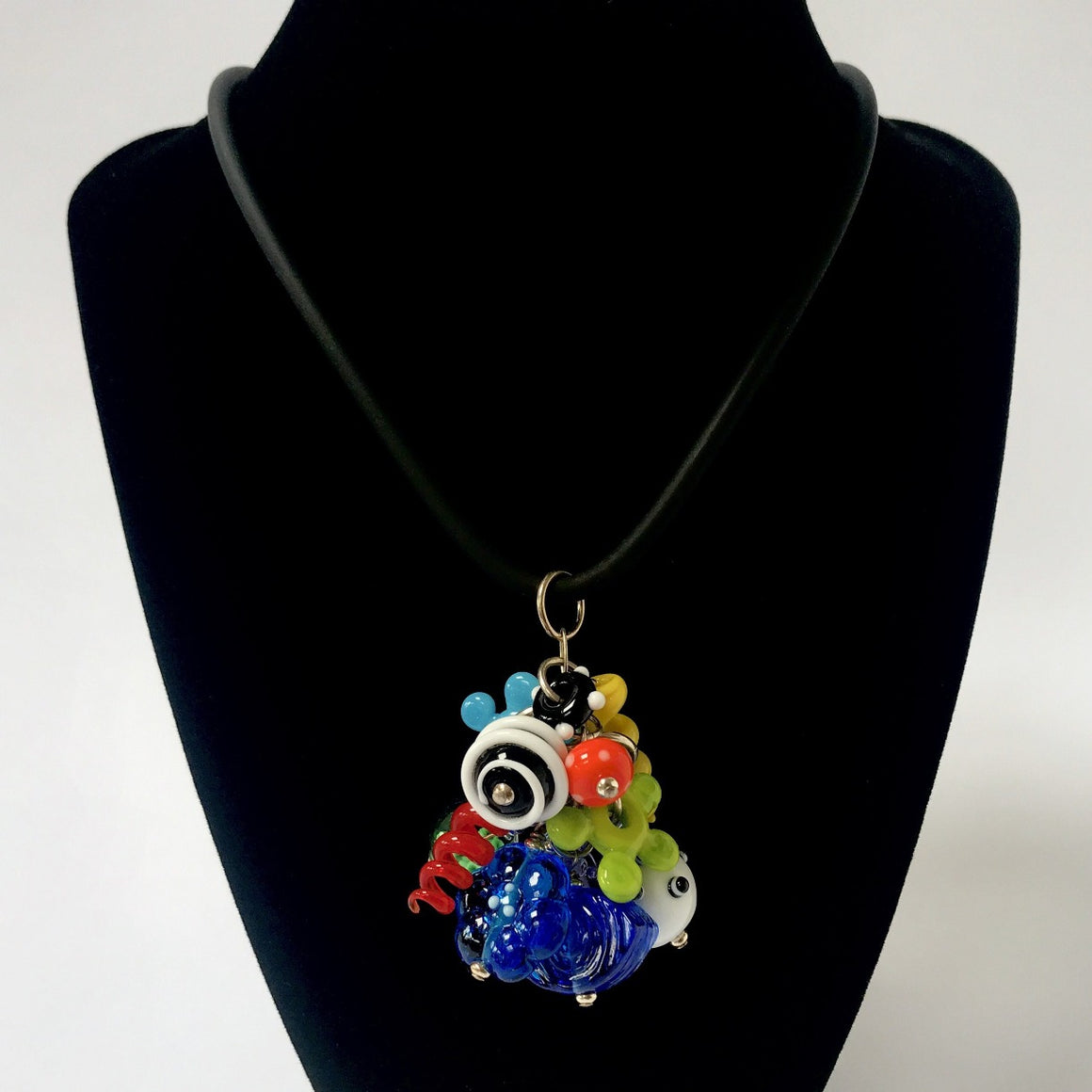 Multi Color Hot Mess Necklace