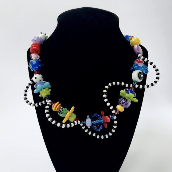 Multi Color DNA Necklace