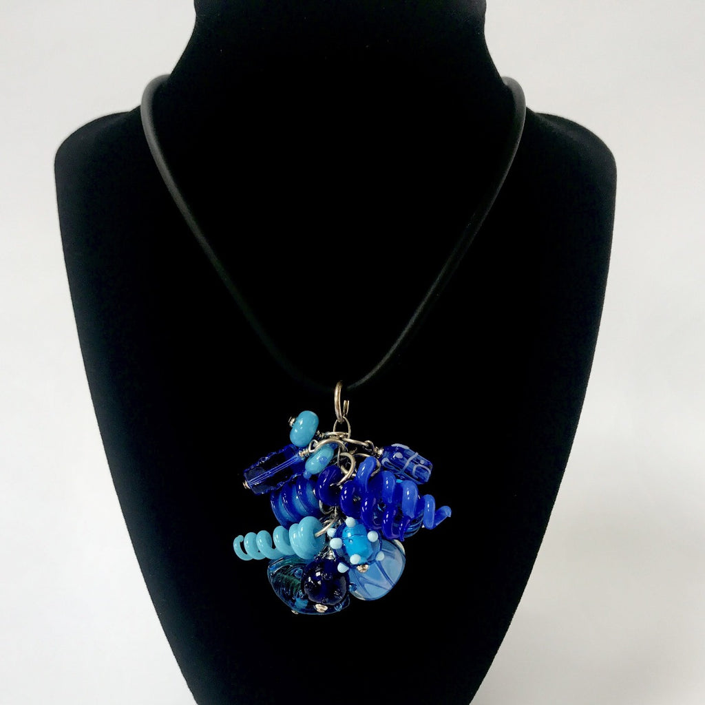 The Blues Hot Mess Necklace