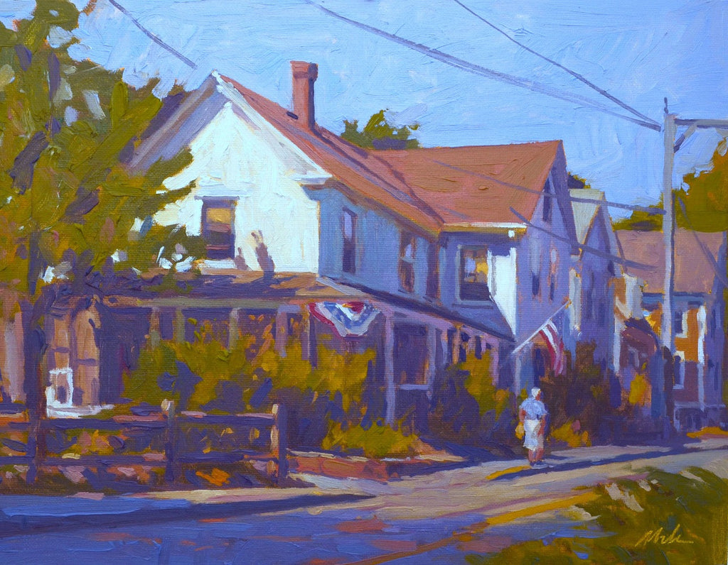 Original Oil Painting by Robert Abele - July 3rd Wellfleet
