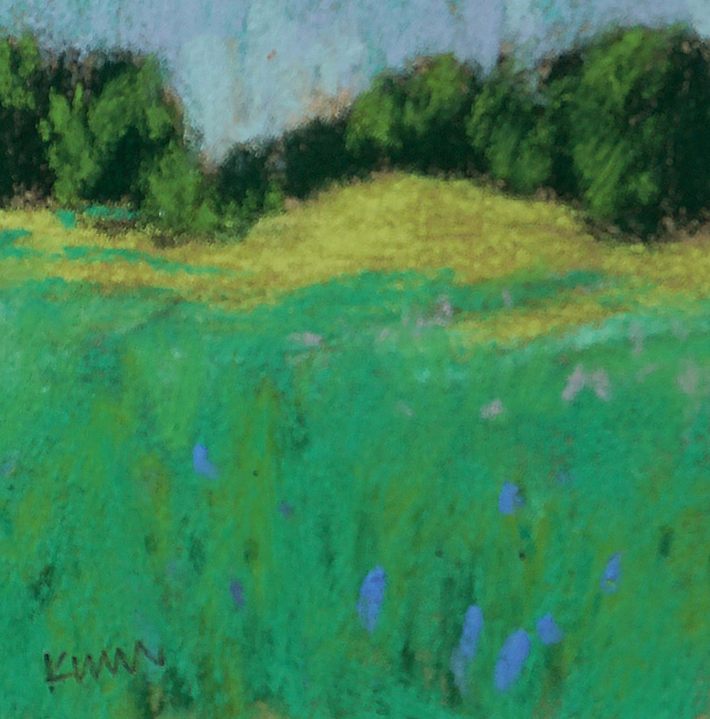 """Sun on Field"" an Original Pastel by Morin Weineck"