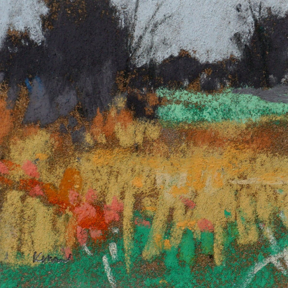 """Spring Grasses"" an Original Pastel by Kim Morin Weineck"