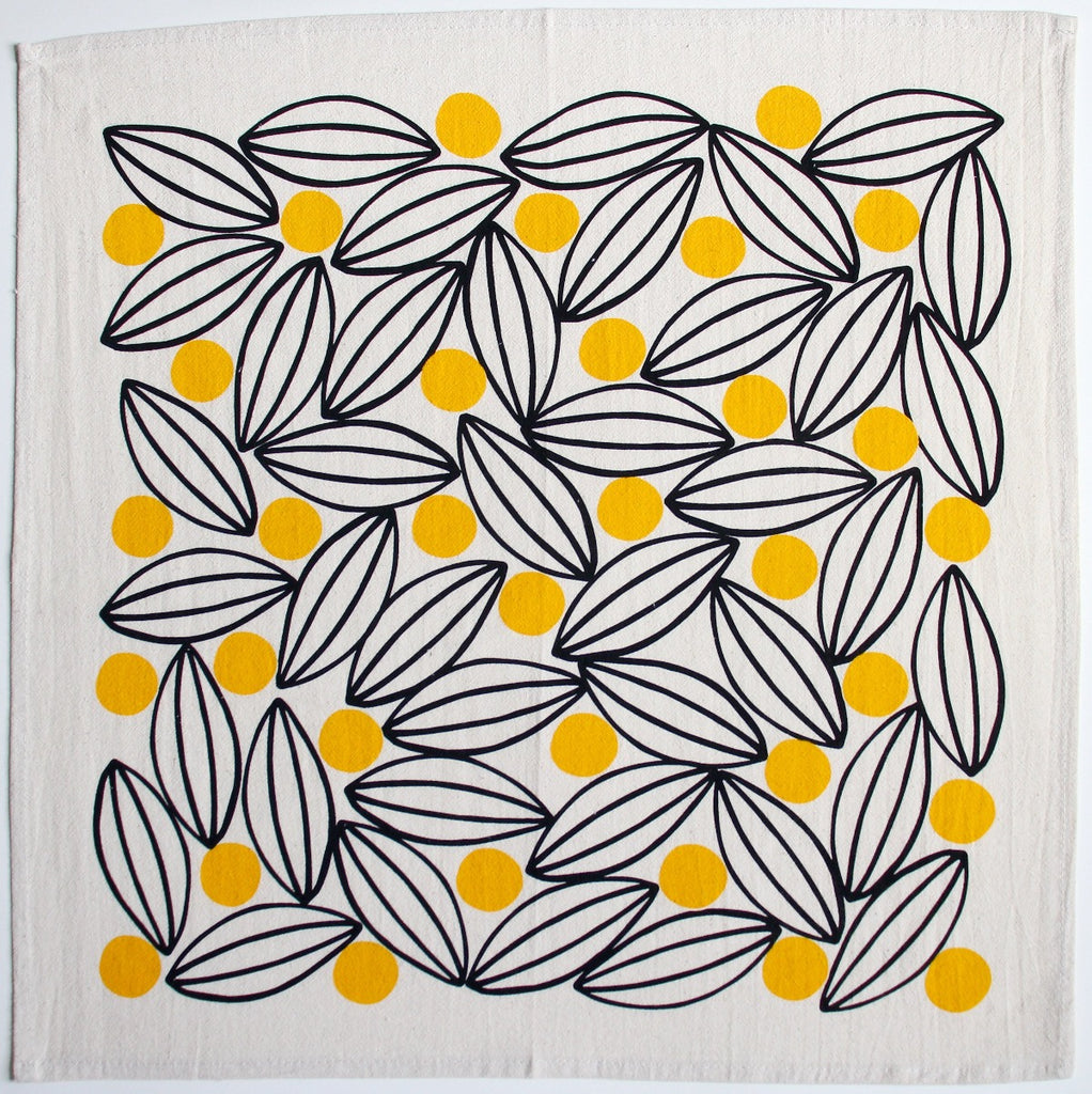 Lemon Tree Tea Towel