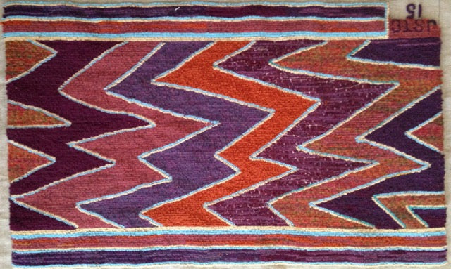 Hand Hooked Rug by Jill St. Coeur