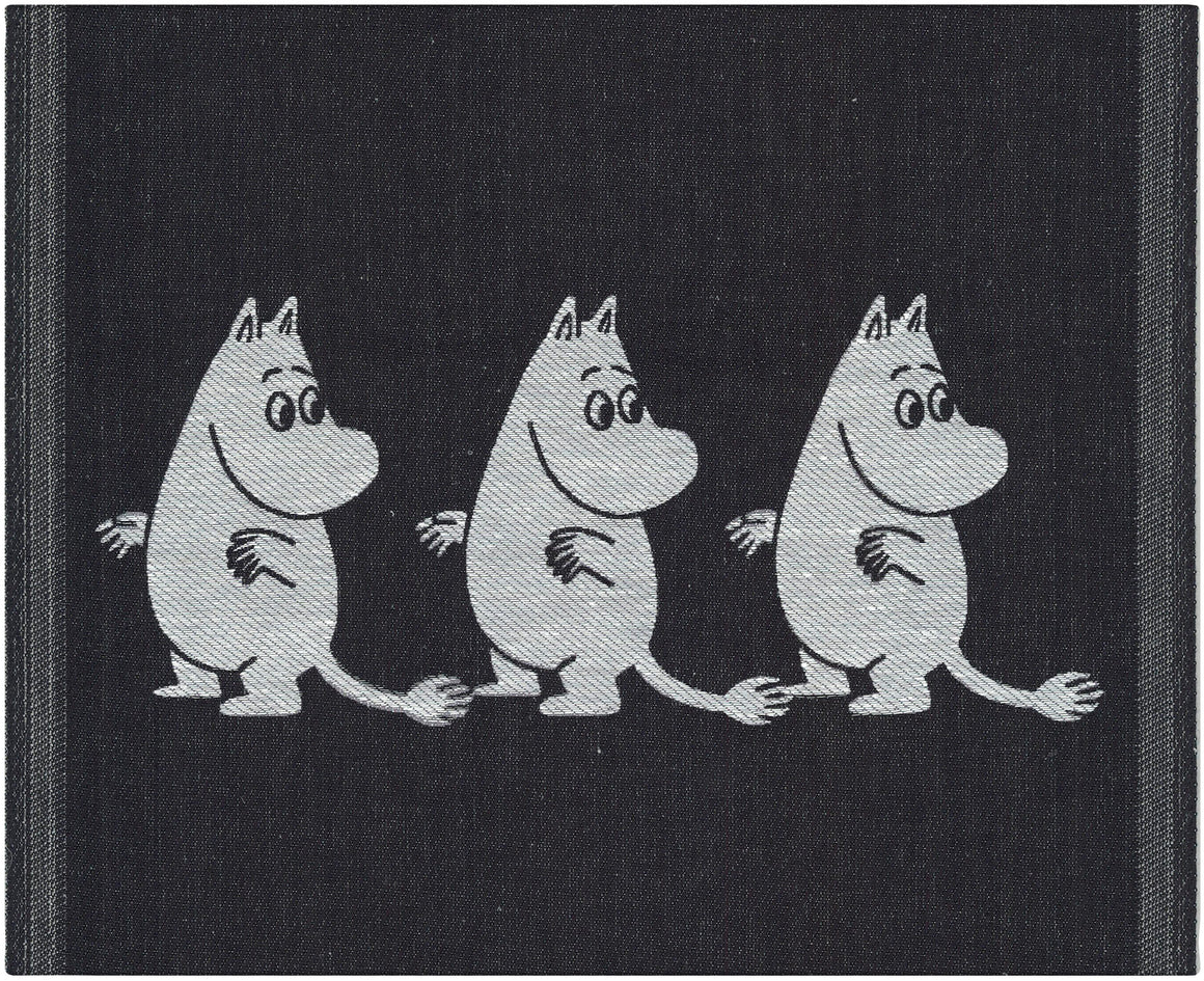 """Moomin"" Dish Cloths and Hand Towels by Ekelund Wovens"