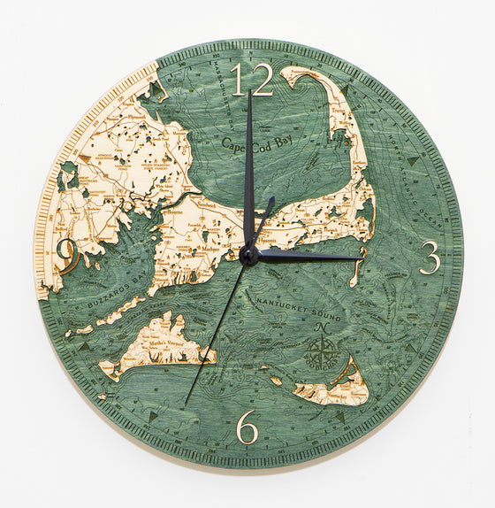 Cape & Islands Wall Clock