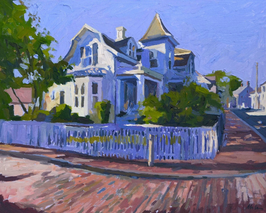 Original Oil Painting by Robert Abele - Nantucket Charm