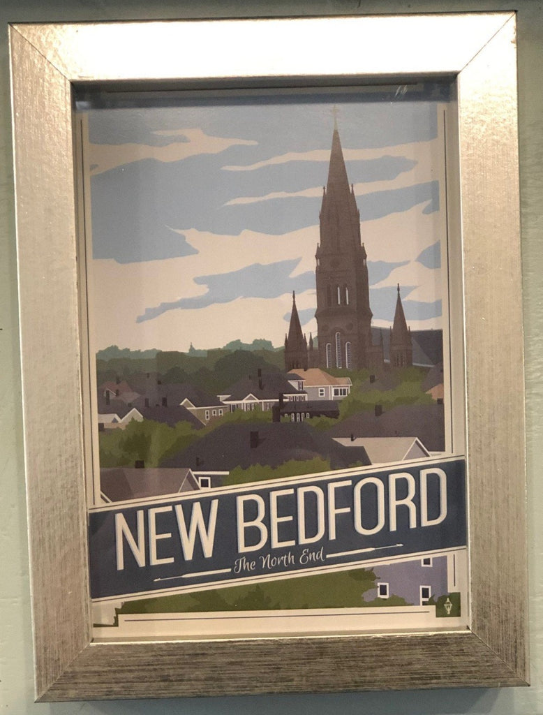 New Bedford Post Card, North End