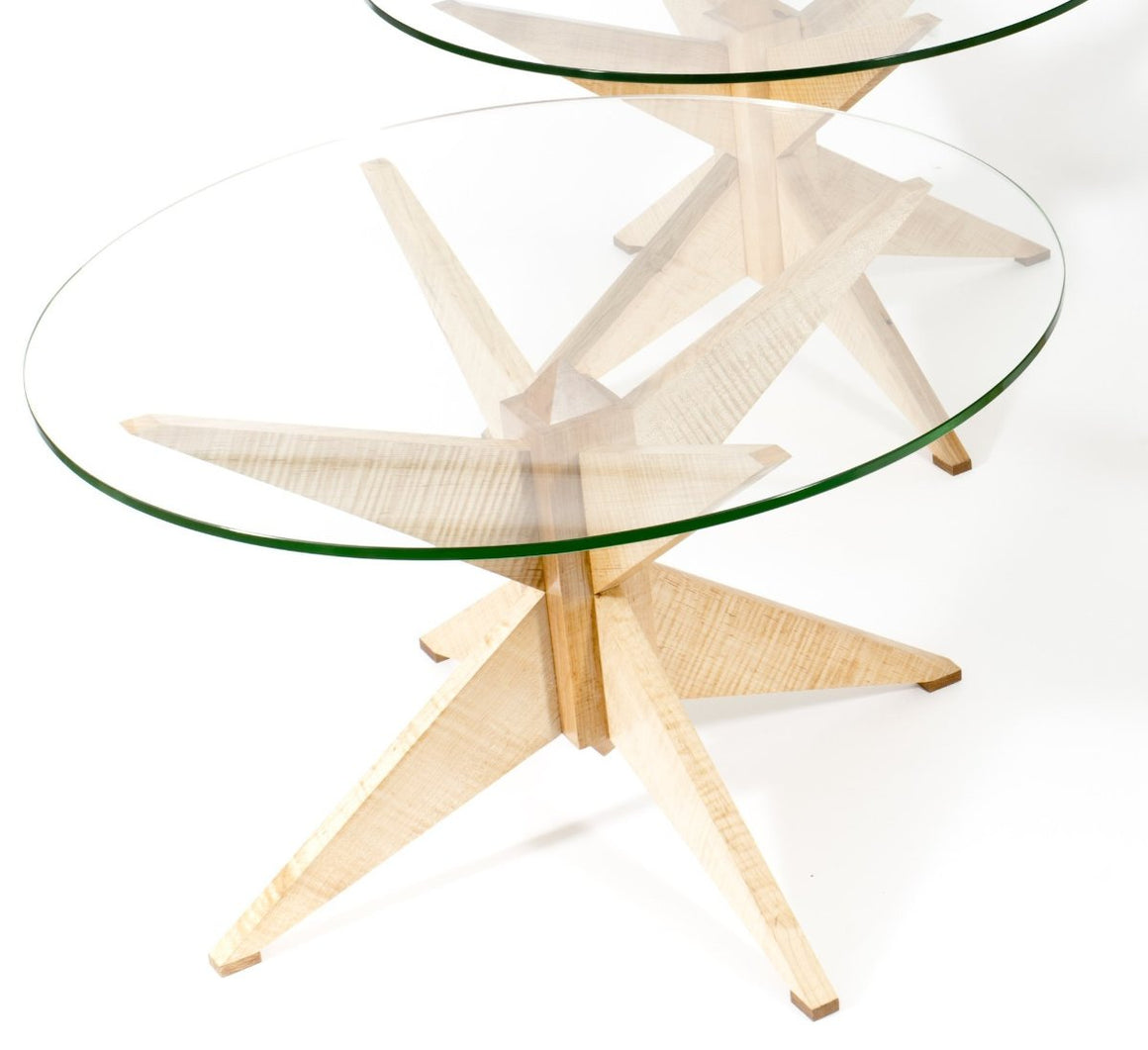 OctaTeaStar Table by Paul Barclay deTolly