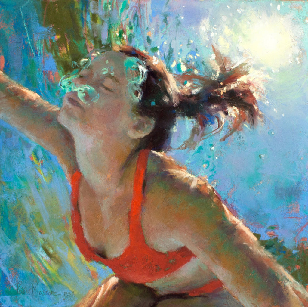 Envision III, Original Pastel by Michele Poirier-Mozzone