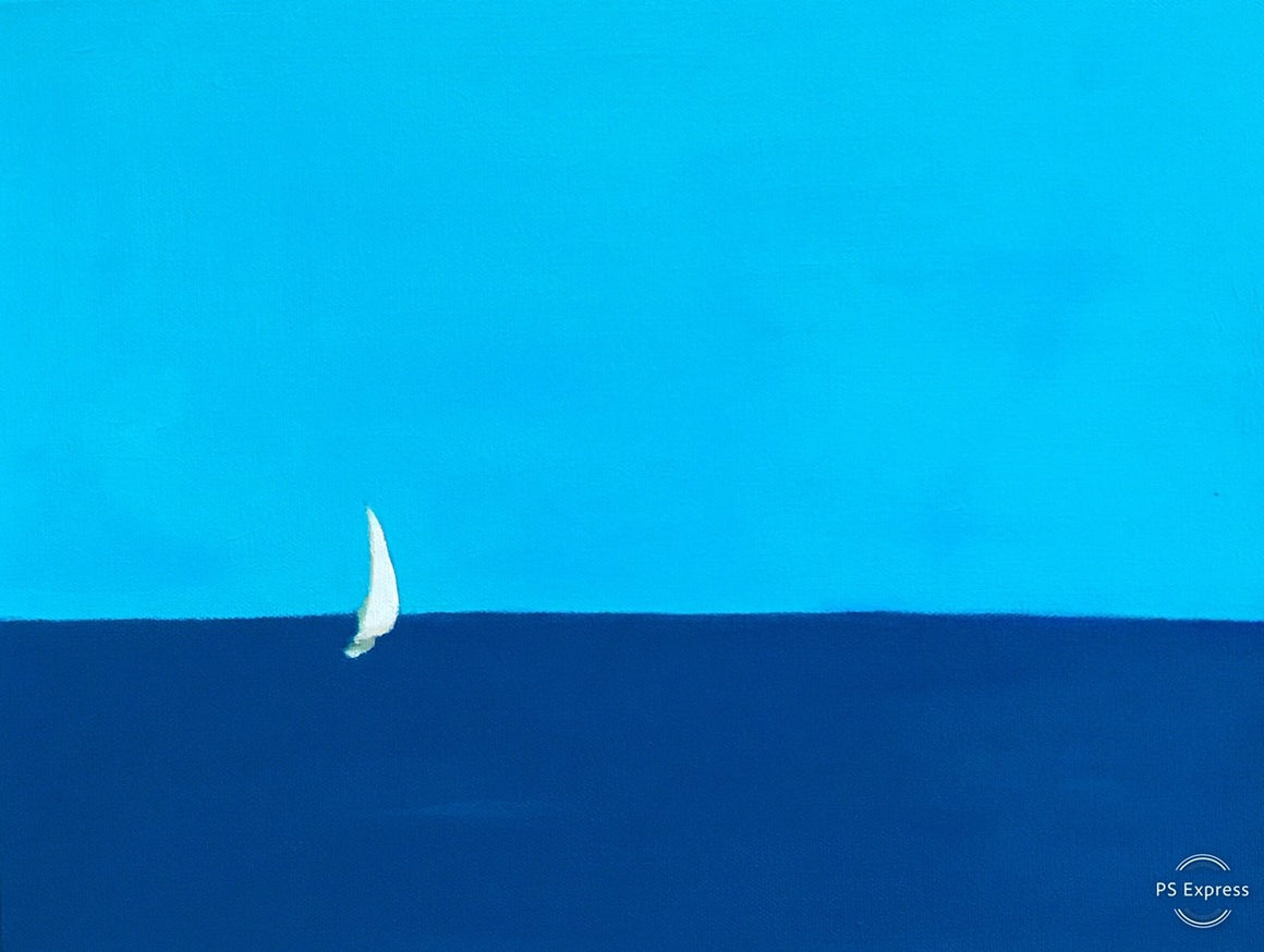 Quarantine Sail, Original Painting by Butch McCarthy
