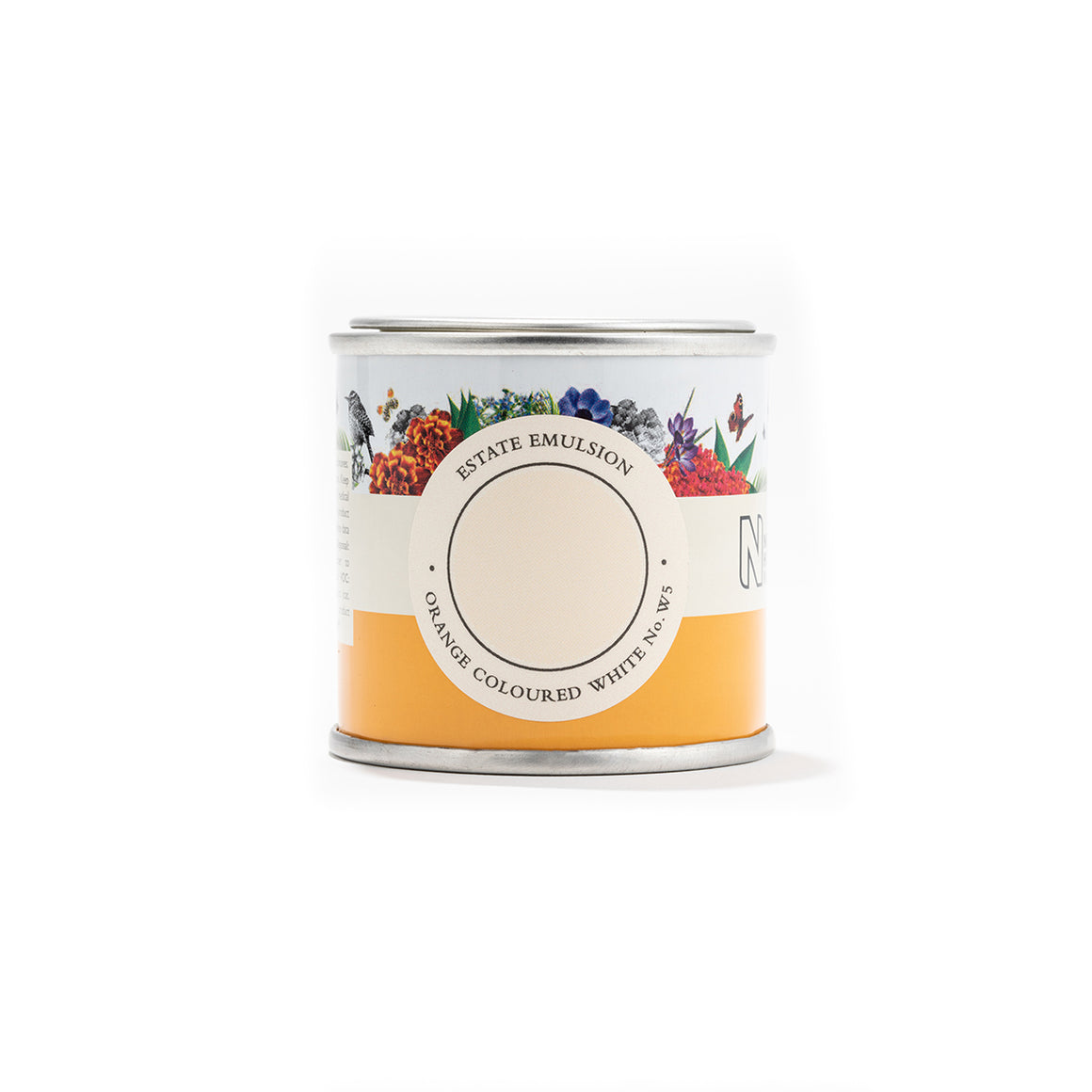 Farrow & Ball Orange Coloured White W5
