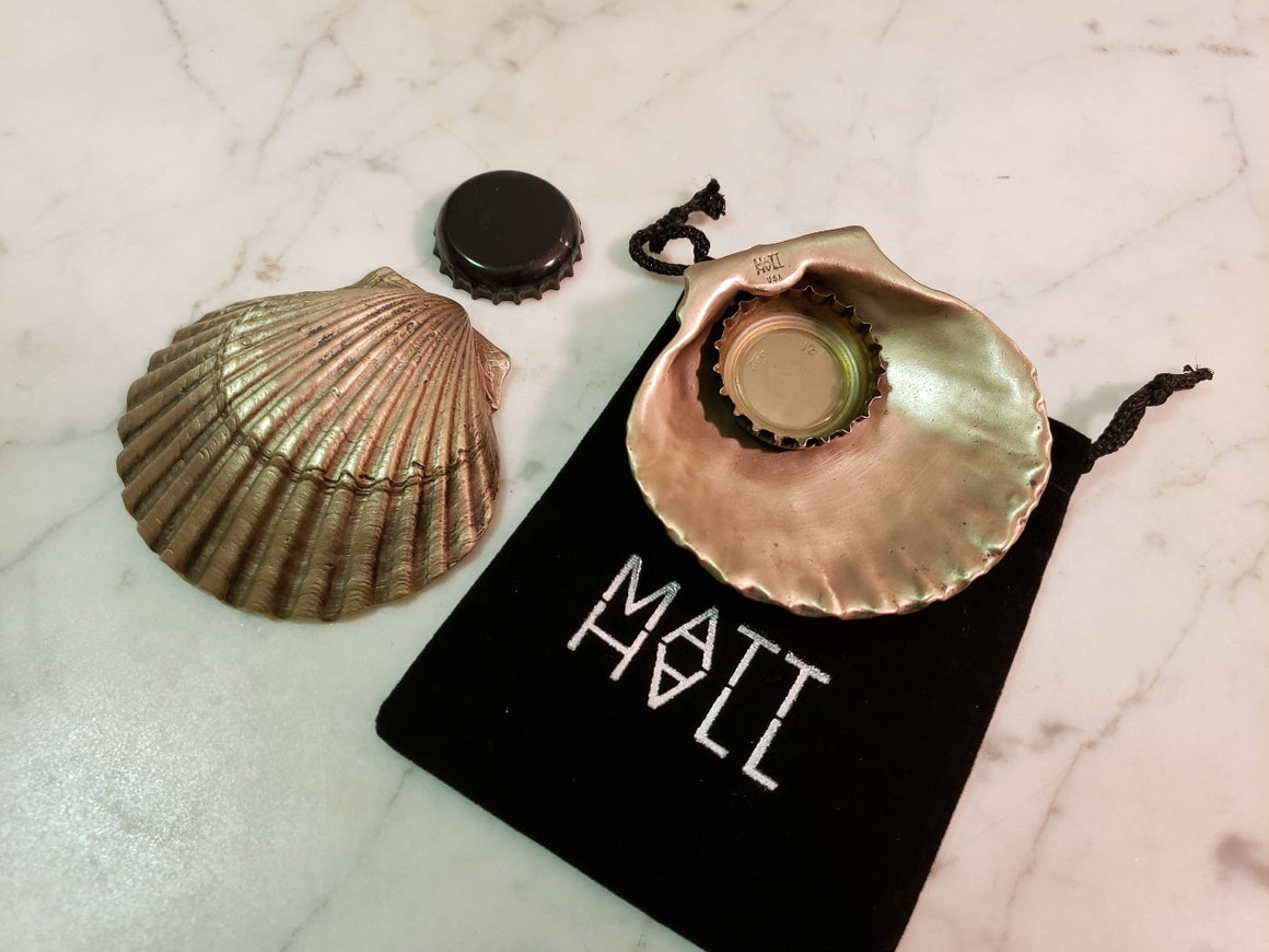 Scallop Bottle Opener