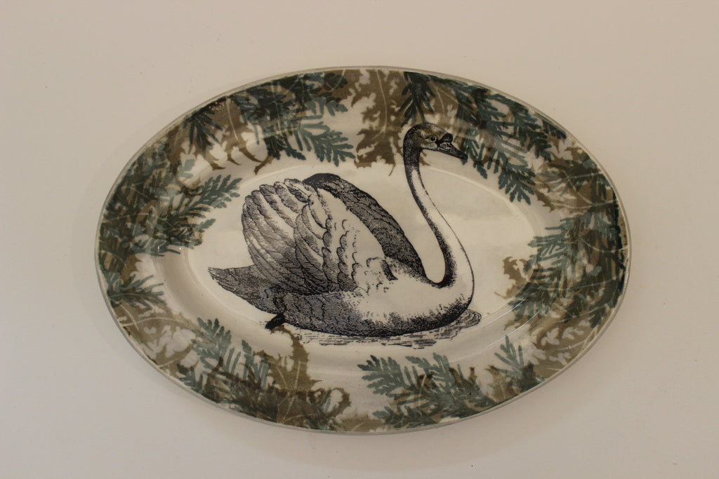 Swan Oval Platter by Craig Crawford