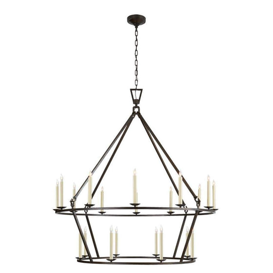 Darlana Extra Large Two Tier Chandelier