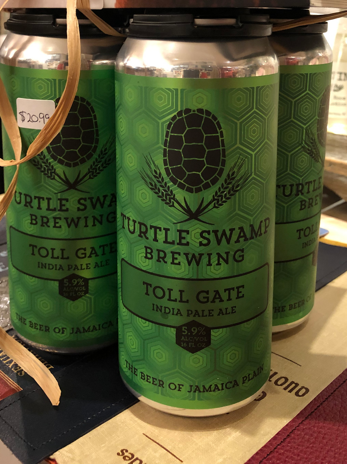 Toll Gate India Pale Ale by Turtle Swamp Brewing