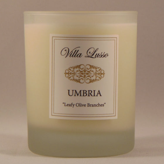 Umbria, Bespoke Candle by Villa Lusso