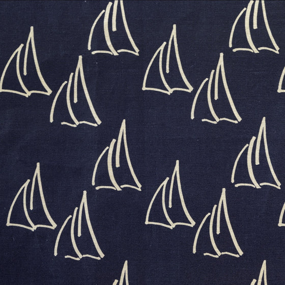 Under Sail Fabric, Natural Linen