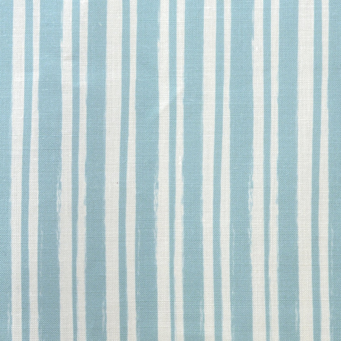 Painterly Stripe Fabric, Oyster Linen