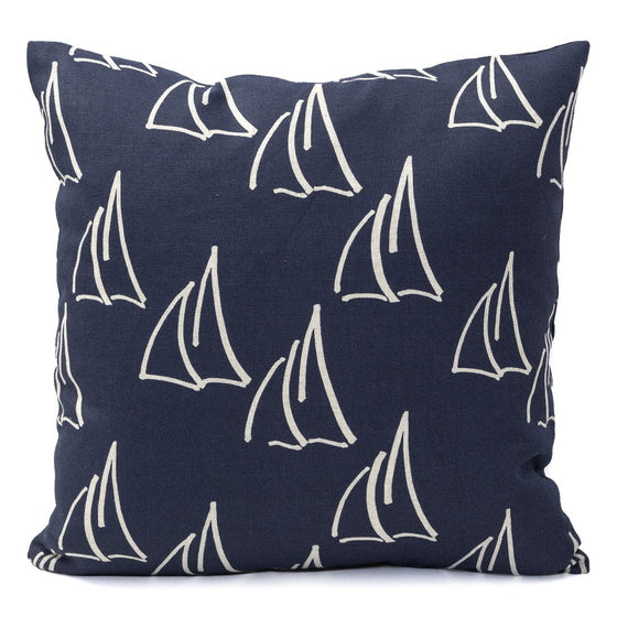 Under Sail Pillow, Natural Linen