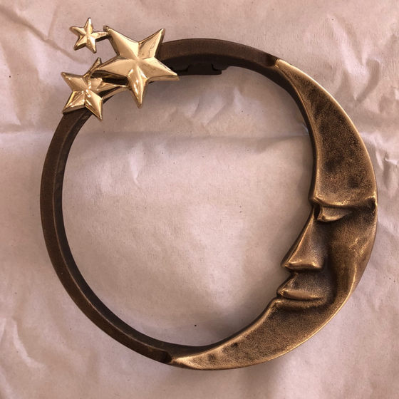Moon Stars Door Knocker