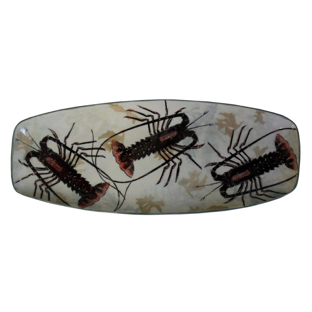 Crayfish Serving Dish by Craig Crawford