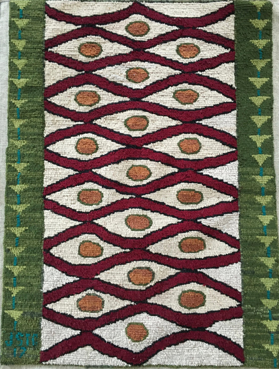 Duomo, Hand Hooked Rug by Jill St. Coeur