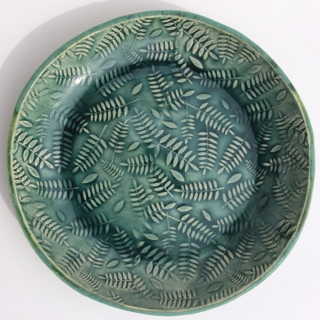 Amy Thurber Fern Plate
