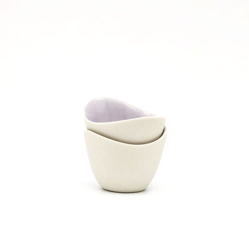 Tiny Cup Lavender by Corrinn Jusell